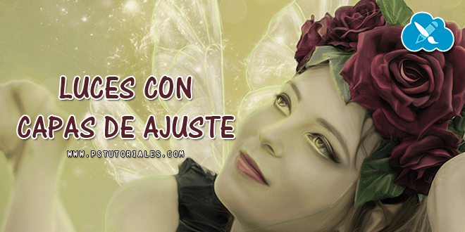 Luces con capas de ajuste Photoshop Tutorial
