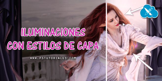 Crear luces con estilos de capa Photoshop Tutorial