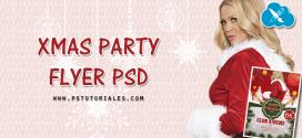 Flyer PSD Fiesta Navidad
