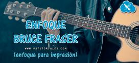 Enfoque para impresión Bruce Fraser