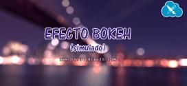 Efecto Bokeh (simulado) con Photoshop
