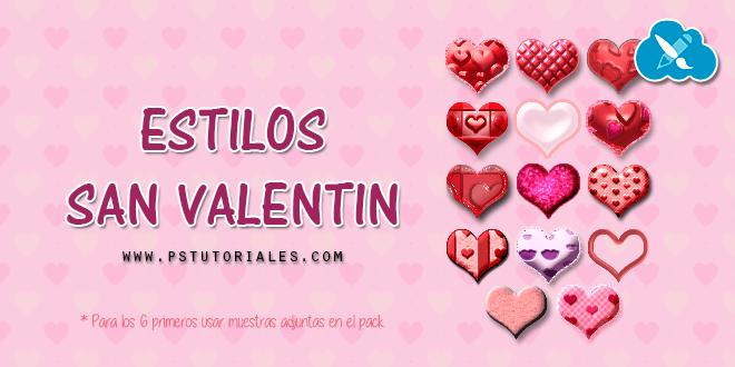 14 estilos San Valentín