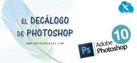 Decálogo: 10 preguntas de principiante sobre Photoshop