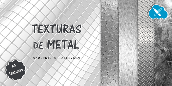 14 texturas de metal