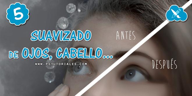 Suavizar cabello con pincel mezclador  – Digital Painting en 6 h.