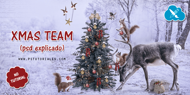 Xmas Team Photoshop Manipulation