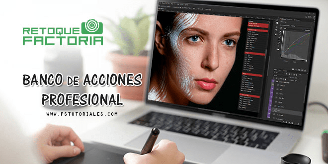 Banco de acciones profesionales para Adobe Photoshop