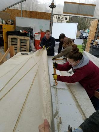 Concrete Canoe Building 3 2017