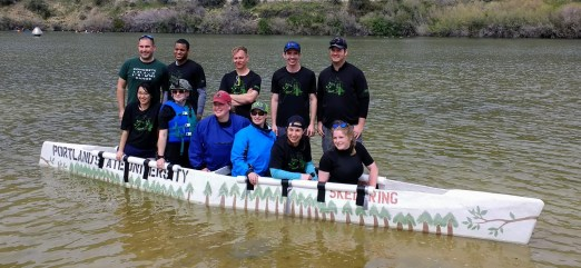 Concrete Canoe 1 at Conference 2017