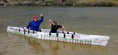 Concrete Canoe 2 at Conference 2017