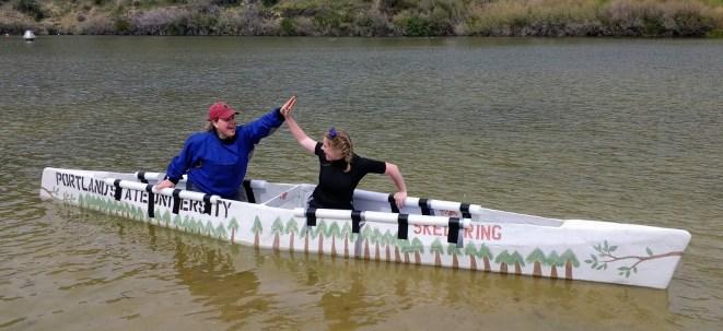 concrete canoe captains