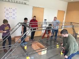Assembling 2016 Steel Bridge 1