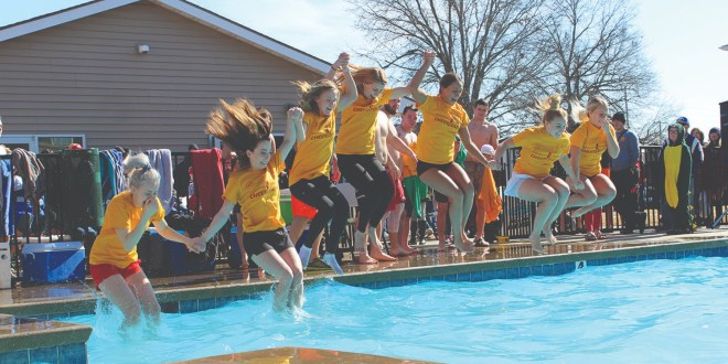 "Pittsburg Police Department Hosts 15th Annual ""Polar Plunge"""