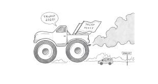 Trump Pence Illustration