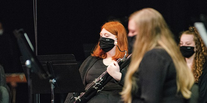 "Wind Ensemble honors Pittsburg composer during ""Sneak Peak"" concert"