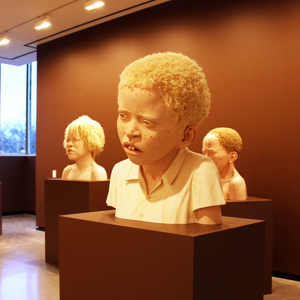 Tip Toland Sculpts The Face Of Prejudice Vanguard