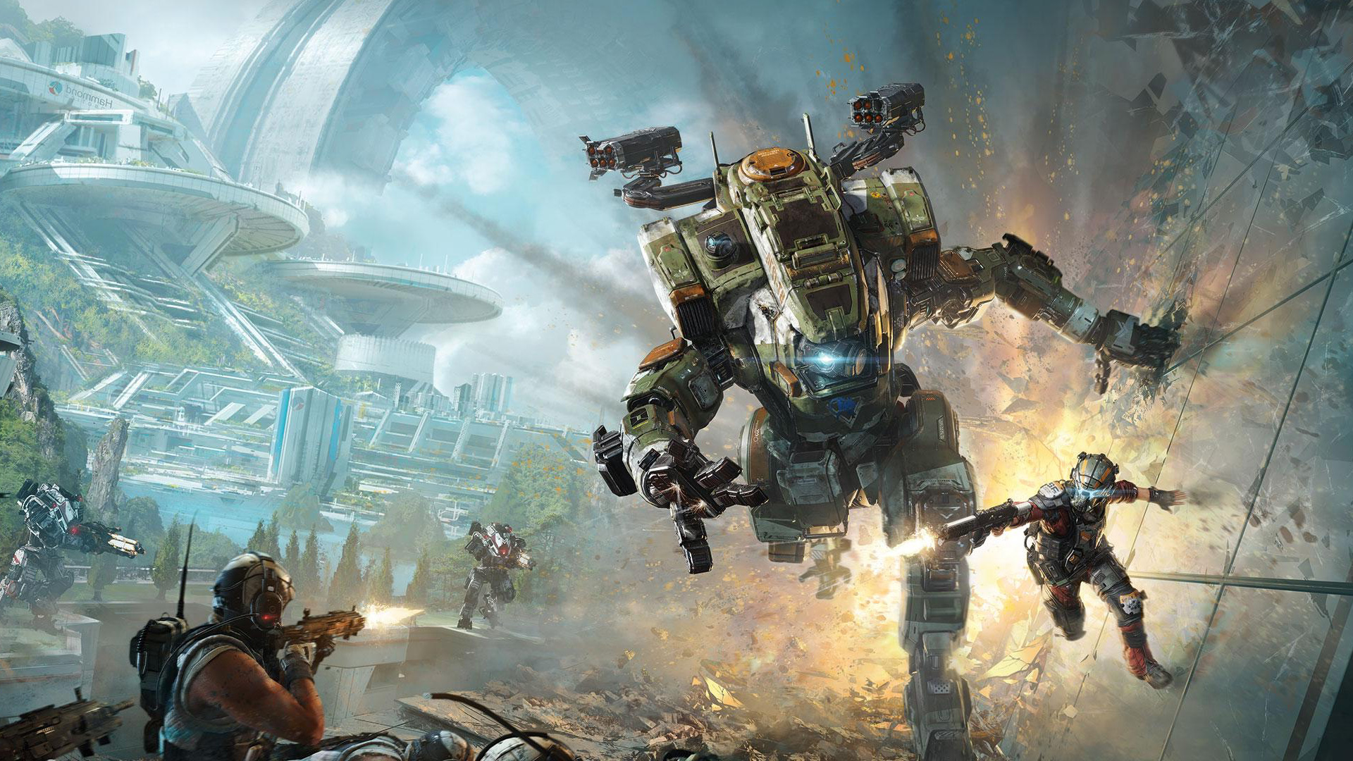 titanfall 2 wallpaper  Titanfall 2 – PS Wallpapers