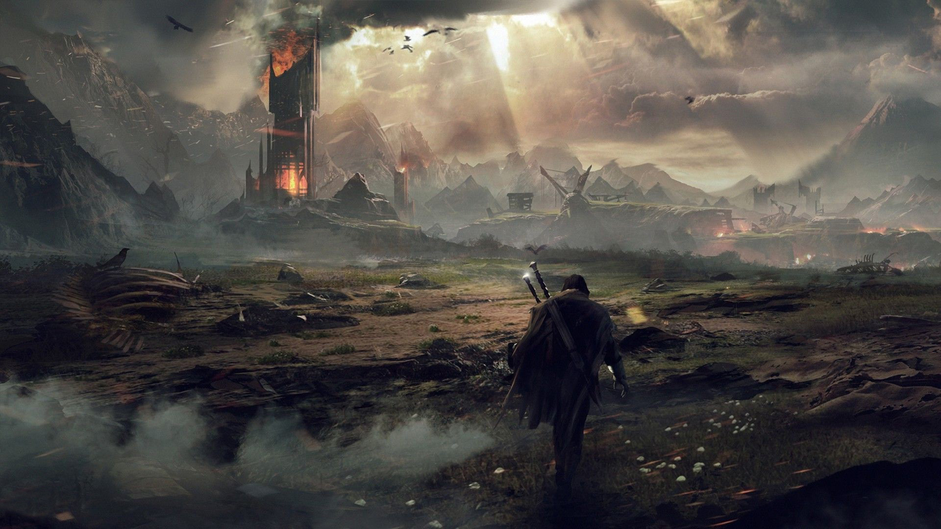 middle-earth: shadow of mordor – ps wallpapers
