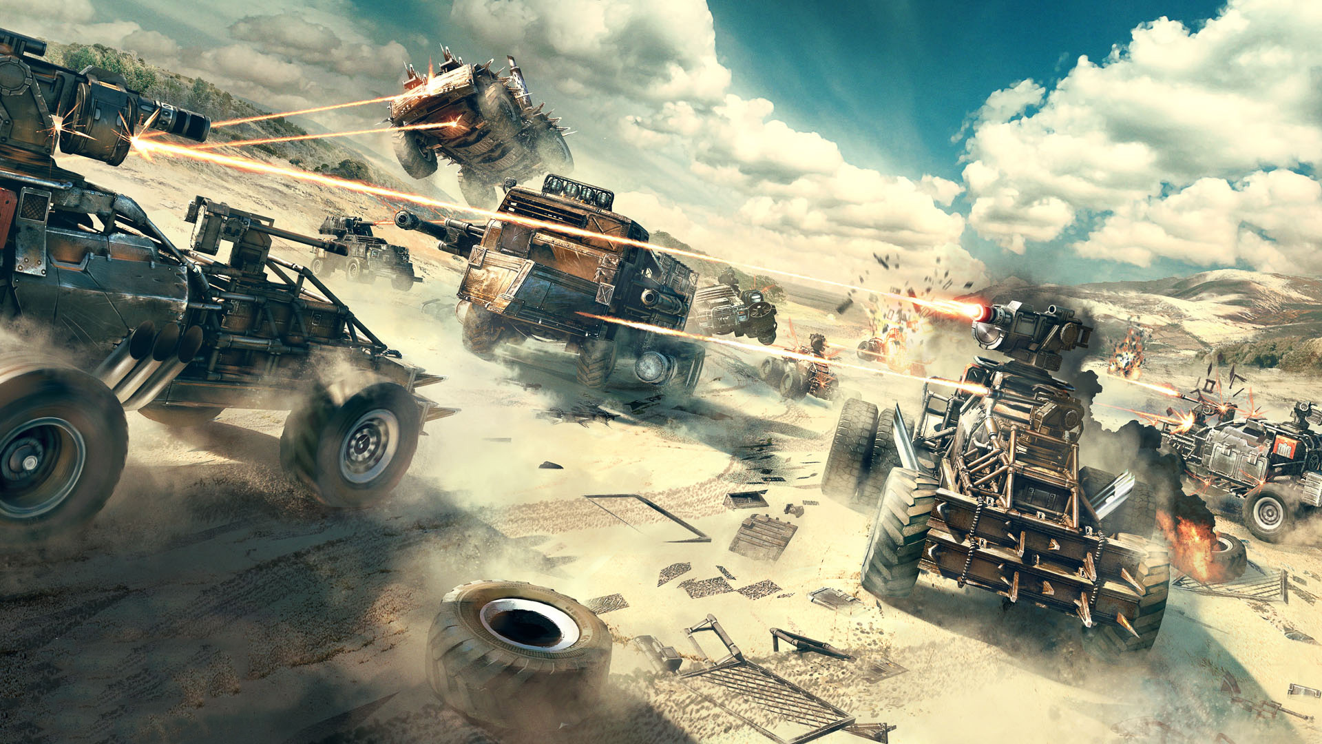 Crossout Ps Wallpapers