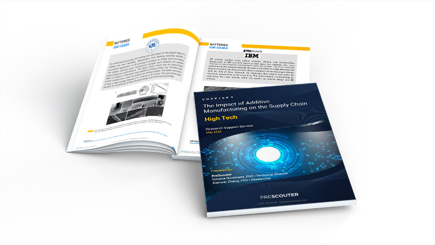 Additive Manufacturing in High Tech