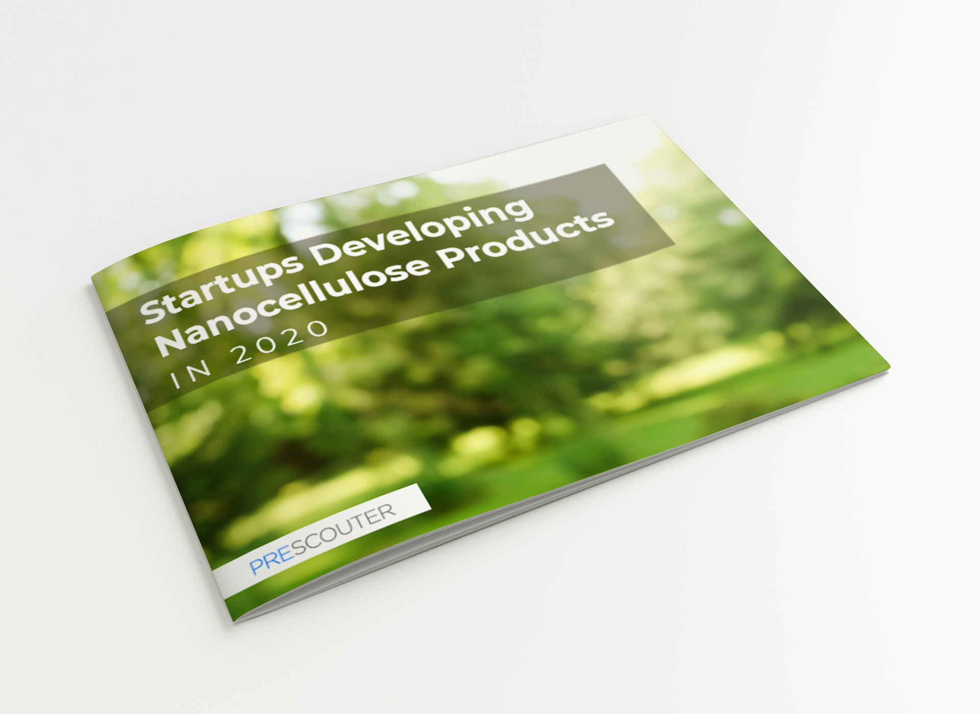 Startups Developing Nanocellulose Products in 2020