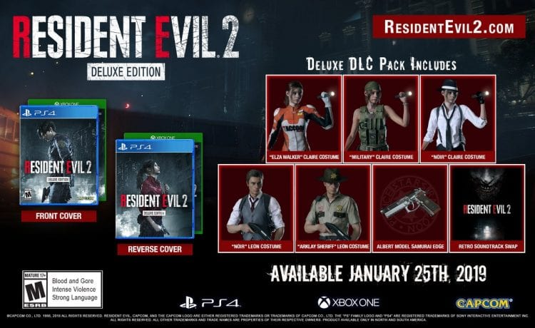 Resident Evil 2 Deluxe Edition