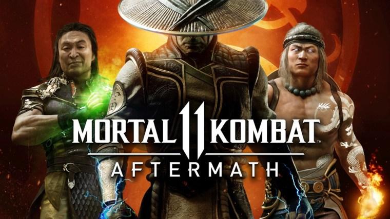 Veja o tema da pré-venda de Mortal Kombat 11: Aftermath; mais ...