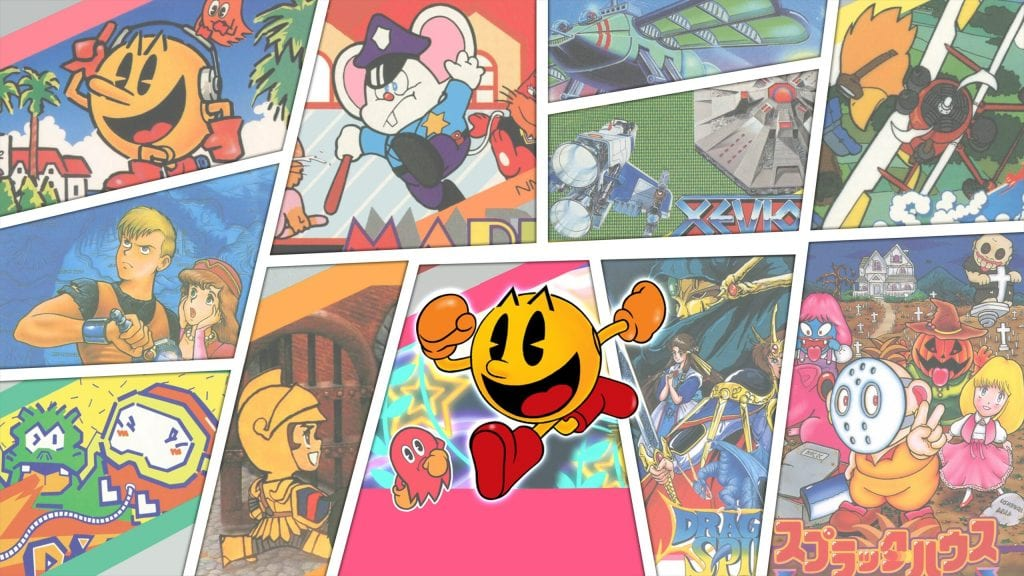 Namco Museum Archives Vol. 1 e 2
