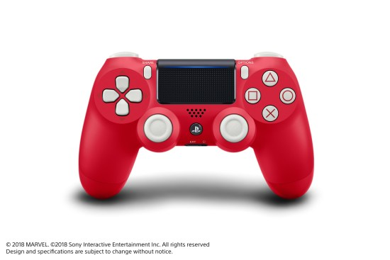 Spider Man PS4 Controller