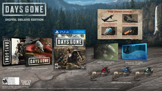 Days Gone Digital Deluxe