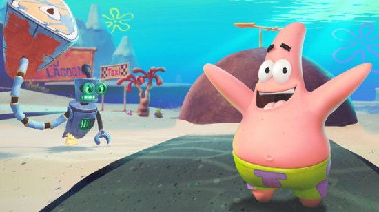 SpongeBob SquarePants: Battle for Bikini Bottom - Rehydrated Patrick Star