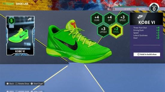 NBA 2k22 Shoe Lab
