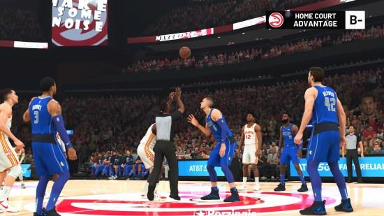 NBA 2K22 another court screenshot