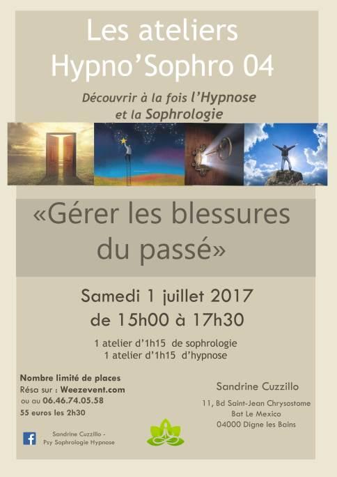 Atelier Hypnose Sophrologie Alpes de Haute Provence Digne Manosque Sisteron