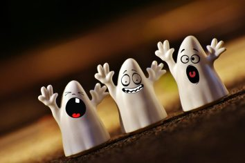 peur de l'enfant: les fantômes