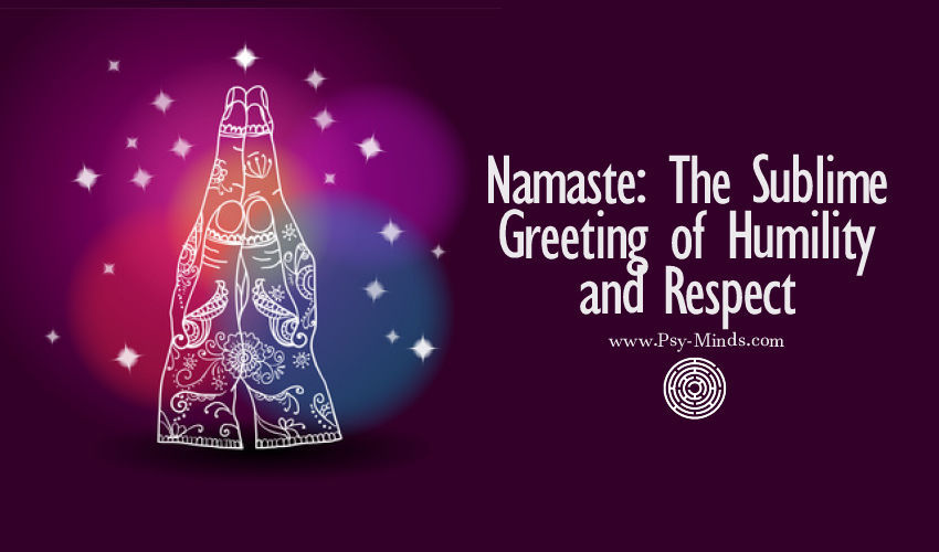 Namaste Greeting Humility Respect