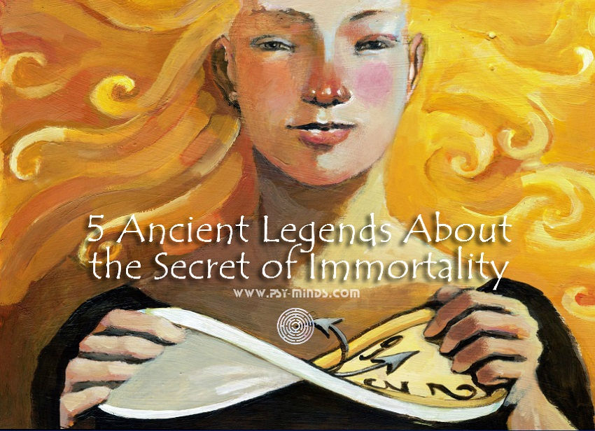 Ancient Legends Secret Immortality