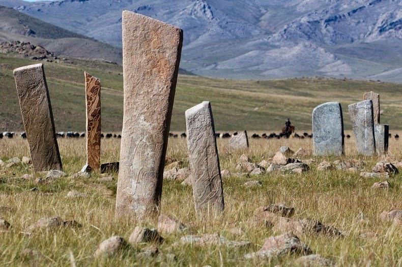 Mongolia - Siberia Deer Stones
