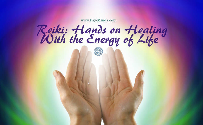 Reiki Hands on Healing With the Energy of Life
