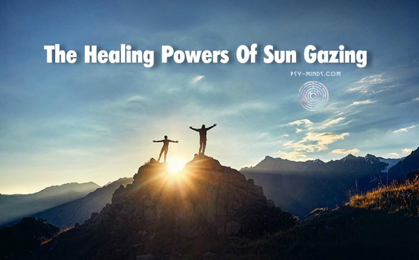 The Healing Powers Of Sun Gazing