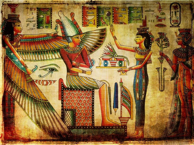 Blue Lotus Flower The Sacred Way Egyptians Got High Psy Minds