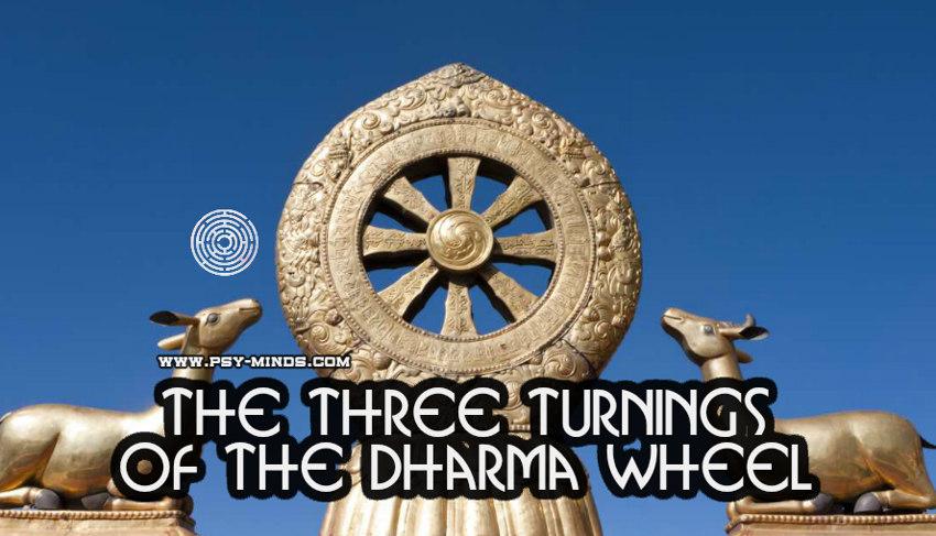 The Three Turnings of the Dharma Wheel