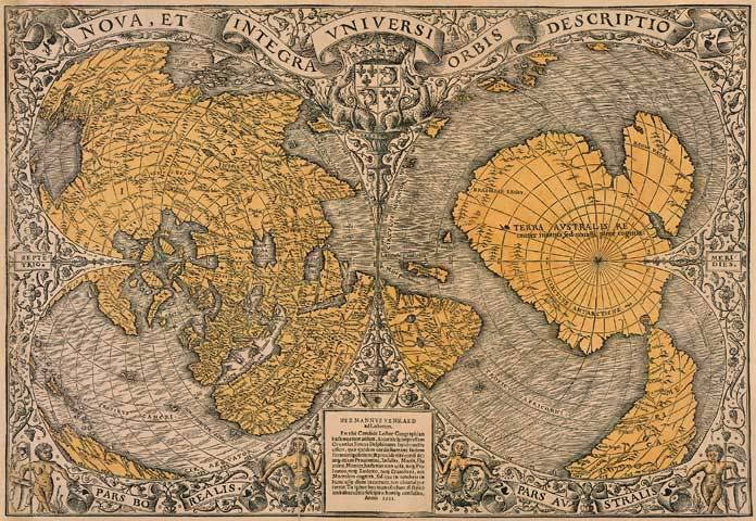 500 Year Old Map Shatters The History Of The Human Race12
