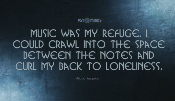 16-Music was my Refuge Maya Angelou