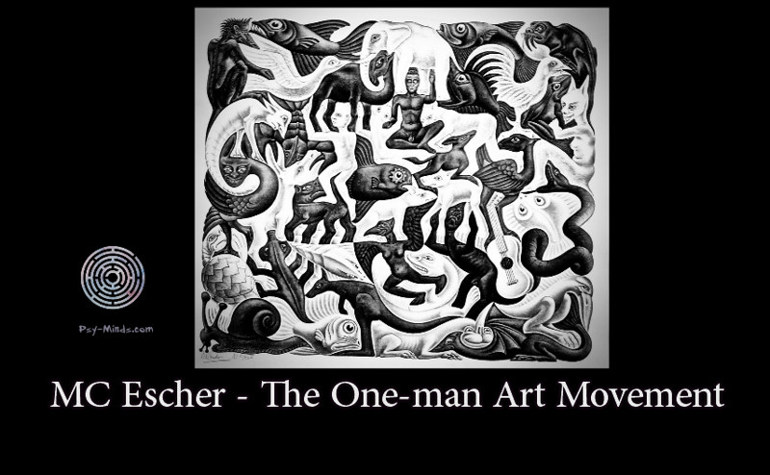 MC Escher - The One-man Art Movement