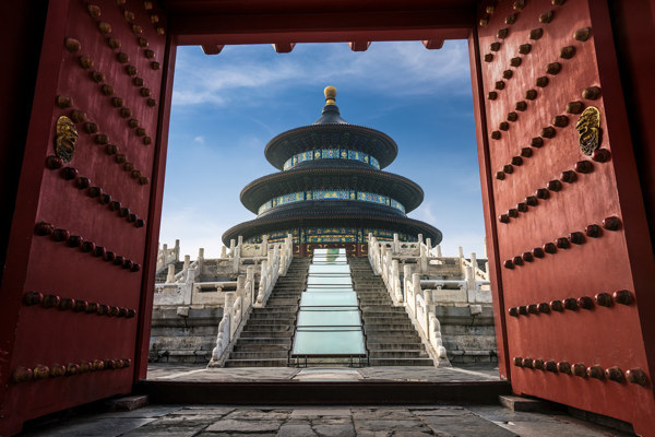 Temple of Heaven circle