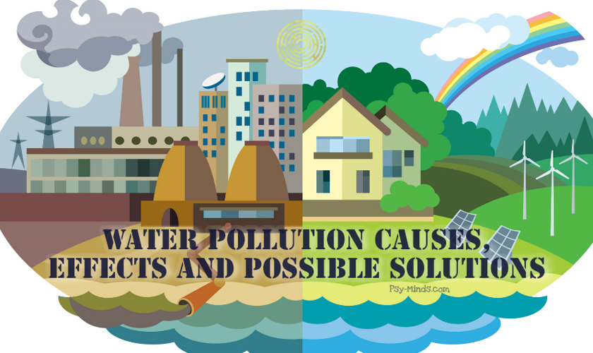 Water Pollution Causes, Effects and Possible Solutions