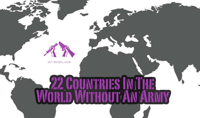 22 Countries In The World Without An Army