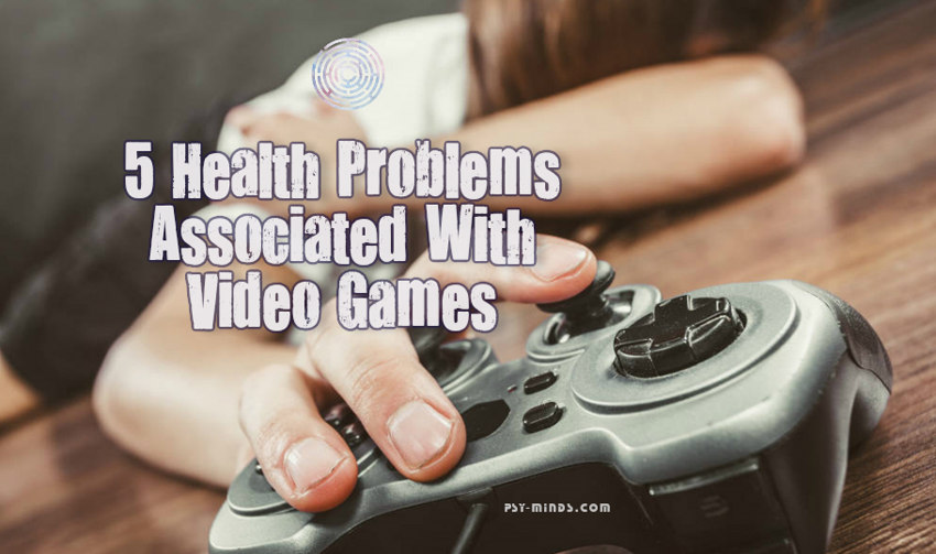 5 Health Problems Associated With Video Games