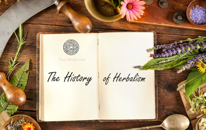 The History of Herbalism